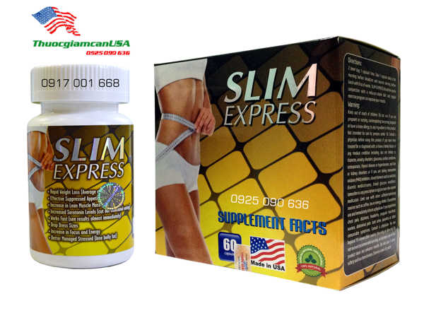 Thuoc giam can Slim Express chinh hang 1