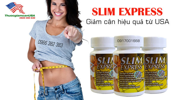 Thuoc giam can Slim Express chinh hang 5